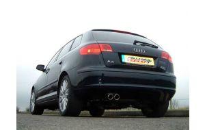 Milltek Sport uitlaat Audi A3 2.0 TFSI