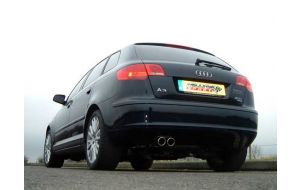 Milltek Sport uitlaat Audi A3 8P 3.2 V6