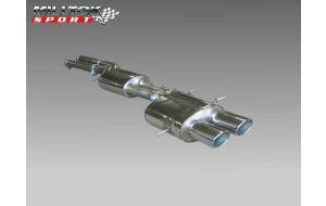 Milltek Sport uitlaat Audi RS4 B5 2.7 V6 Bi-turbo 380 pk 440 Nm