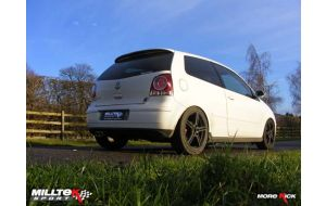 Milltek uitlaat VW Polo 9N3 1.8 GTI Cup edition