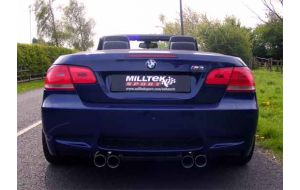 Milltek Sport uitlaat BMW 3-Serie Cabrio E93 M3