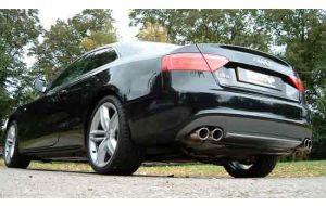 Milltek Sport uitlaat Audi S5 Coupe 4.2 V8 354 pk 440 Nm