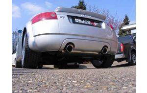 Milltek Sport uitlaat Audi TT 8N 1.8T 180pk