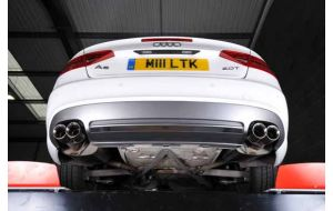 Milltek Sport uitlaat Audi A5 B8 2.0TFSI