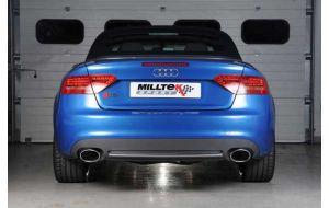 Milltek Sport uitlaat Audi S5 B8 Cabrio 3.0 TFSI V6