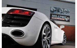 Milltek Sport uitlaat Audi R8 5.2 FSI V10