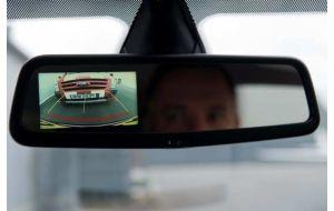 Achteruitkijkspiegel camera monitor met achteruitrijcamera (afbeelding kan afwijken)