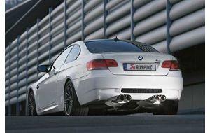 Akrapovic uitlaat BMW M3 E90 E92 E93