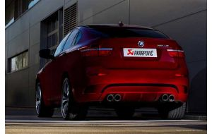 Akrapovic uitlaat BMW X6 M E71 Evolution system