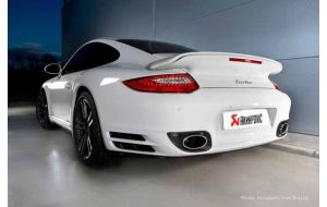 Akrapovic uitlaat Porsche 911 Turbo 997 FL Slip-on system