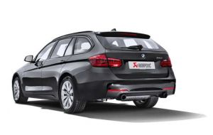 Akrapovic uitlaat BMW 3-serie 340i F30 F31 Evolution system