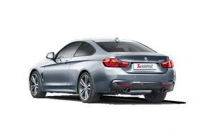 Akrapovic uitlaat BMW 4-serie 440i F32 Evolution system