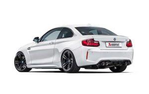 Akrapovic uitlaat BMW M2 F87 Evolution system
