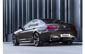 Akrapovic uitlaat BMW M6 F06 Gran Coupe Evolution system