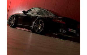 Akrapovic uitlaat Porsche 911 Turbo 997 Evolution system
