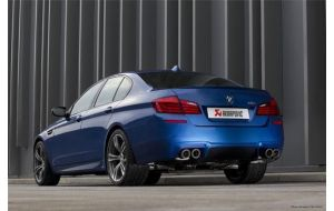 Akrapovic uitlaat BMW M5 F10 Evolution system