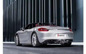 Akrapovic uitlaat Porsche 981 Boxster