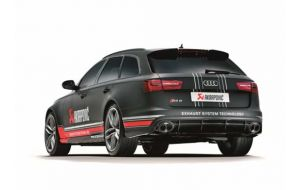 Akrapovic uitlaat Audi RS6 C7 Avant Evolution system
