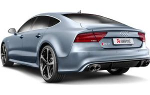 Akrapovic uitlaat Audi RS7 Sportback C7 Evolution system