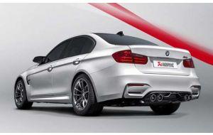 Akrapovic uitlaat BMW M3 F80 Slip-on line Titanium