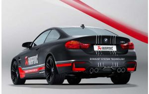 Akrapovic uitlaat BMW M4 F82 F83 Slip-on line Titanium
