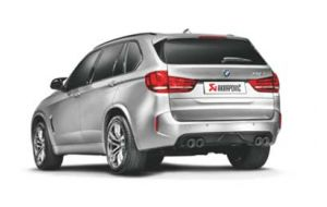 Akrapovic exhaust BMW X5M F85 Evolution system
