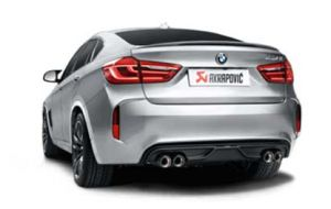 Akrapovic uitlaat BMW X6M F86 Evolution system