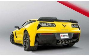 Akrapovic uitlaat Chevrolet Corvette ZO6 Stingray C7 Evolution line