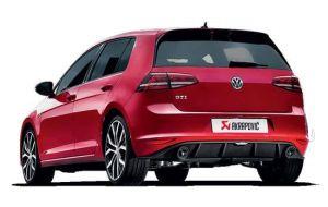 Akrapovic uitlaat VW Golf 7 VIl GTI