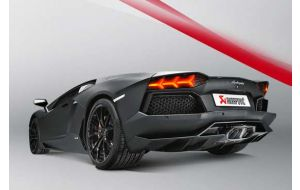 Akrapovic uitlaat Lamborghini Aventador LP 700-4