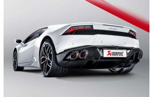 Akrapovic uitlaat Lamborghini Huracan LP 610-4 Slip-On Line