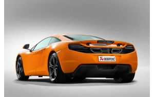 Akrapovic uitlaat Mclaren MP4 12C