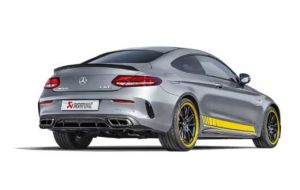 Akrapovic Mercedes C63 AMG Coupe C205 Evolution line