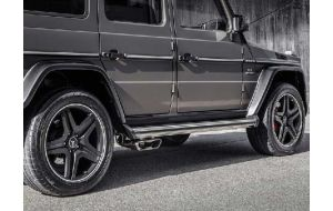 Akrapovic uitlaat Mercedes G63 AMG W463 Evolution line