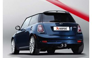 Akrapovic uitlaat Mini JCW R58 Evolution system