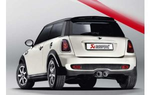 Akrapovic uitlaat Mini Cooper S R58 R59 Evolution system