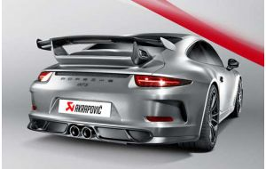 Akrapovic uitlaat Porsche 911 GT3 RS 991 Evolution line Titanium