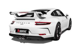 Akrapovic uitlaat Porsche 991.2 GT3 (RS)