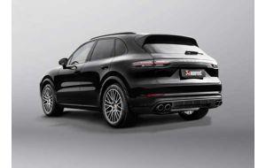 Akrapovic uitlaat Porsche Cayenne 536