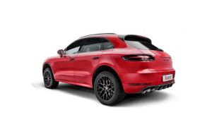 Akrapovic uitlaat Porsche Macan 95B GTS Turbo Evolution line