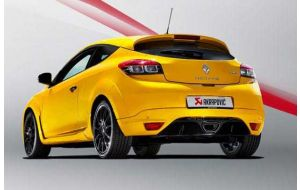 Akrapovic uitlaat Renault Megane Coupe RS 2015
