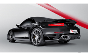 Akrapovic uitlaat Porsche 911 911 Turbo en Turbo S Slip on line Titanium