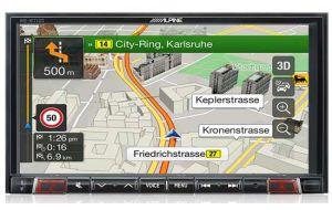 Alpine INE-W710D navigatie