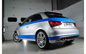 Milltek Sport uitlaat Audi A1 1.4 TFSI S-LINE
