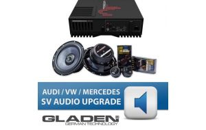 Gladen SV audio upgrade Audi Mercedes VW