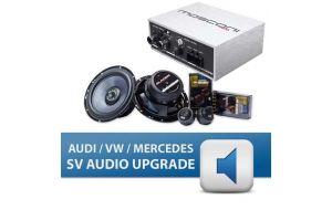 Gladen Audi VW Mercedes SV Audio upgrade