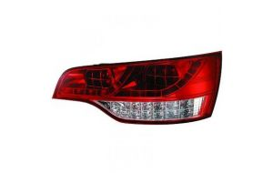 Audi Q7 LED tail lights red white 05-09