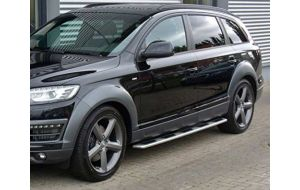 Audi Q7 Side Steps Treeplanken Running Boards 07-10