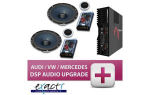Exact! VW Audi Mercedes DSP audio upgrade