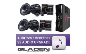 Gladen VW Audi Mercedes SS audio upgrade